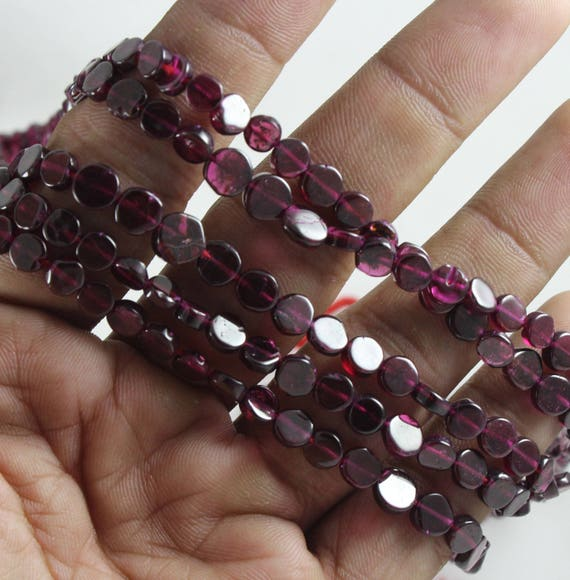 9 Pretty Garnet Coloured Quartz Glass Faceted Rectangle Shaped Beads 14*10 mm