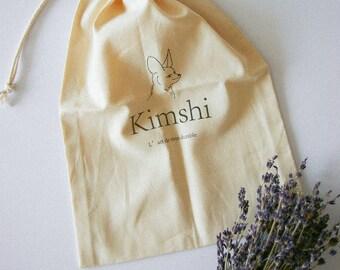 Organic cotton pooche bag