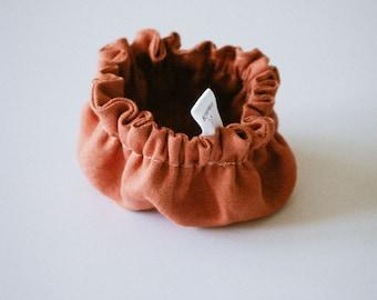 """Charlotte linen bowl - the Little """"terracotta"""""""