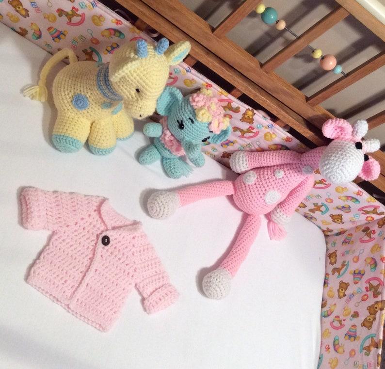 8e301772ef87 Newborn Crocheted Sweater Pink Crocheted Baby Sweater Baby