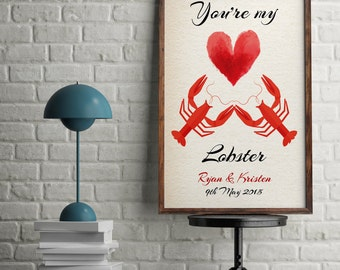 Lobster Quote Etsy