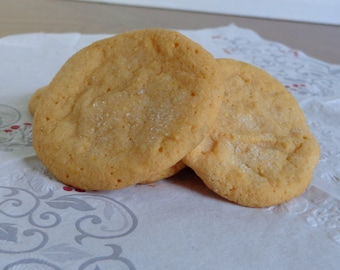 Orange Sugar Cookies (dozen)