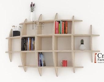 new concept c3c1f ad626 Hanging bookshelf   Etsy