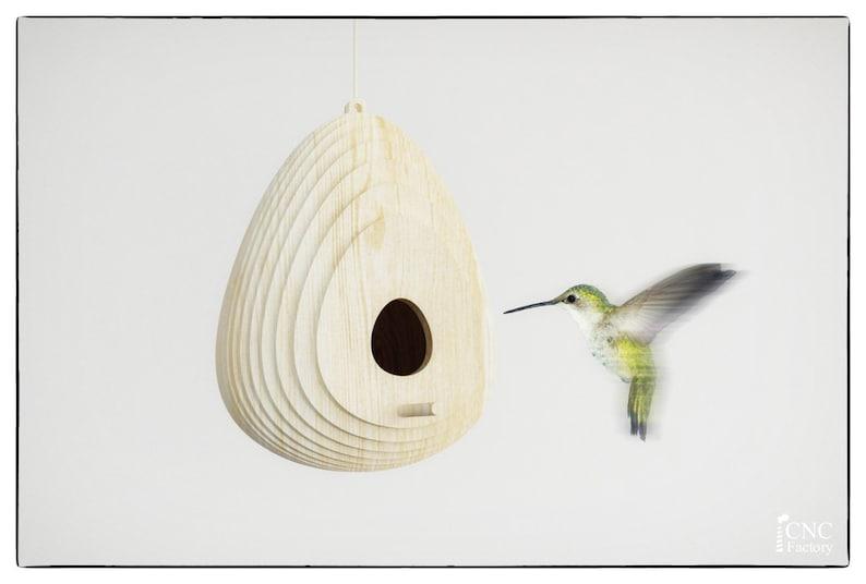 Ptak House Drewno Szablon Cięcia Plik Odkryty Birdhouse Etsy