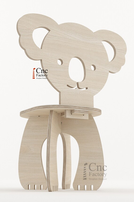 Awesome Panda Chair Kids Playroom Furniture Animal Seat Diy Projects For Cnc Machines Neutral Boy Girl Time Out Furniture To Cutting Out Gmtry Best Dining Table And Chair Ideas Images Gmtryco