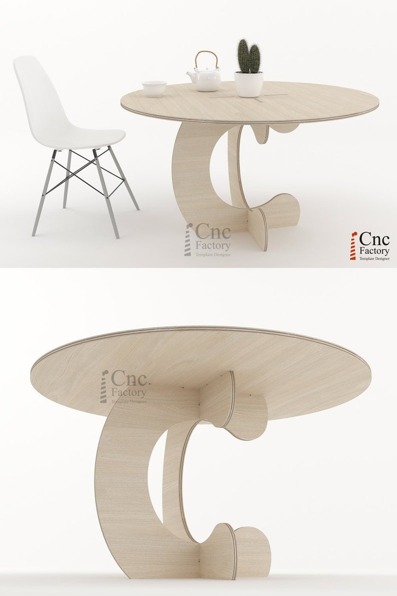 Monkey Table Furniture Plan For Dining Room Digital Etsy