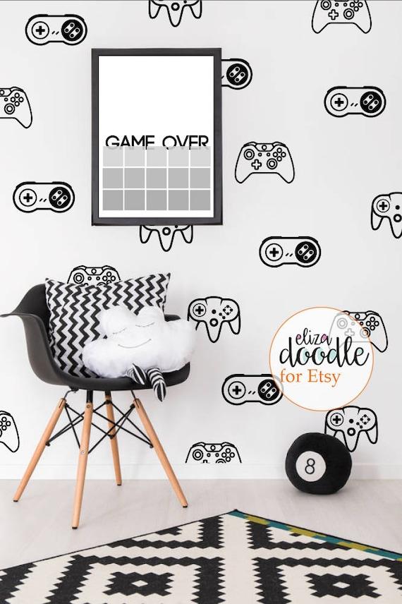 Teen Hoodie Decal Vinyl Wall Sticker Art Kids Room Boys Girls Décor