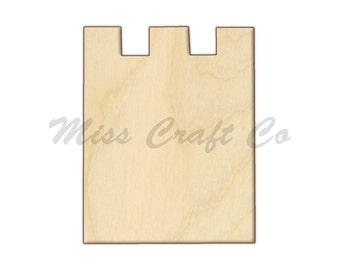 69b4efc7cf6 Chess Rook Icon Wood Craft Shape