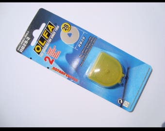Olfa Rotary Cutter replacement blades 45mm and 28mm