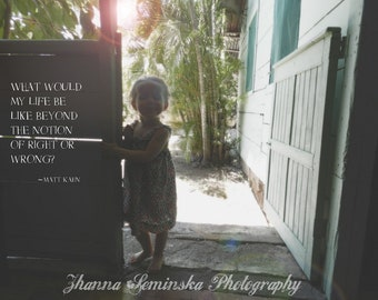 Childhood Art, Smile Art, Child in Costa Rica Photography