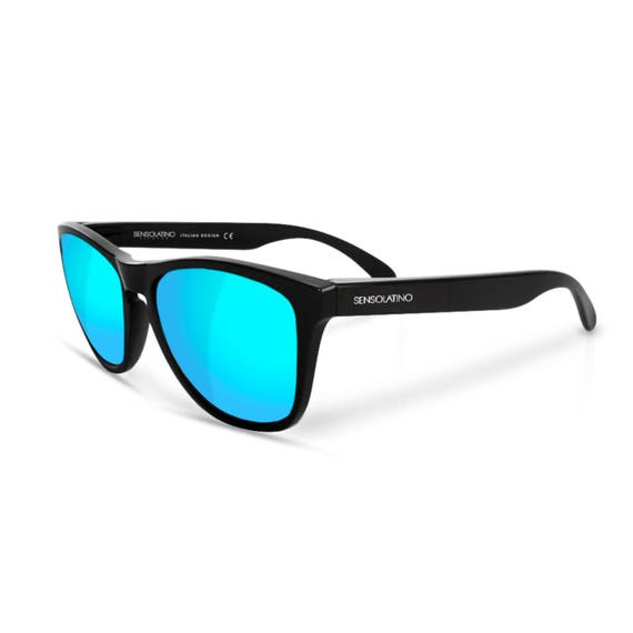 ca08ff8174 Sensolatino® Polarized Sunglasses Series Italia Shine Black