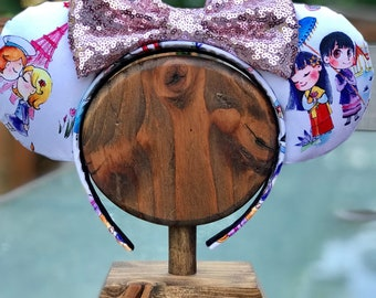 Around the World Mouse Ears