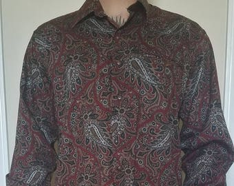 Vintage Austin Reed Collared, Button Down Shirt, Size L