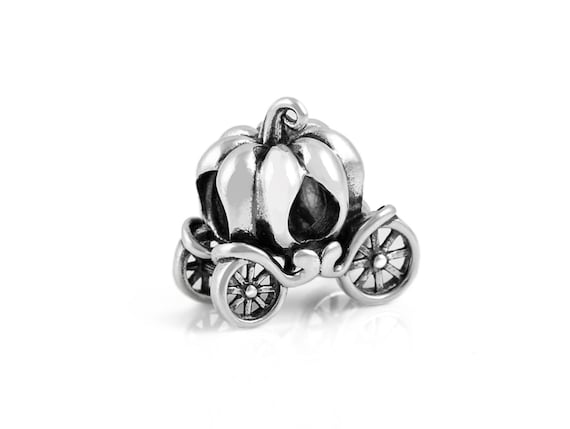 8c24fa460 Cinderella's Pumpkin Carriage Sterling Silver Charm S925 | Etsy