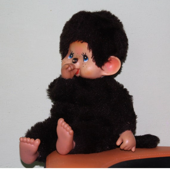 image 0 image 1 image 2 image 3 image 4 Very rare big antique monkey. vintage monkey. Retro Toy monkey. Toy from USSR era. monkey. Monchhichi. Japan