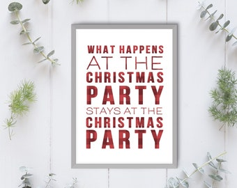 digital prints christmas party decorations office christmas decorations funny christmas decoration funny christmas printables - Christmas Party Decorations