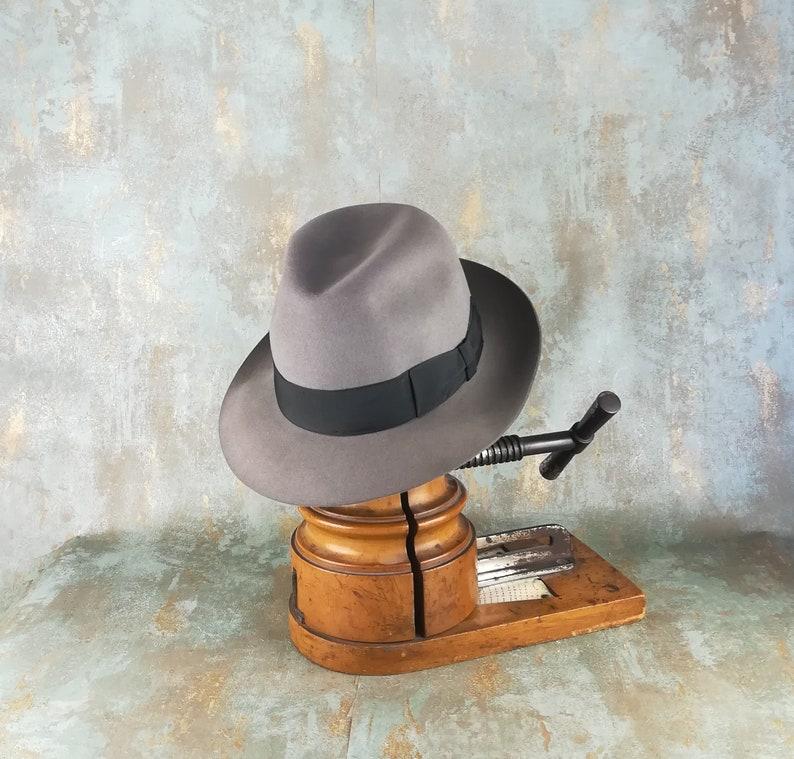 72e03563190 New Dad Gift. Borsalino fedora. Wide brimmed hat. Linea