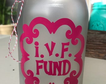 IVF Fund Piggy Bank Quart Size