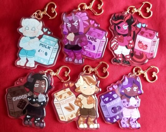 Cookie Run Cow Charms! [3 in each]