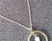 Larimar Nugget Beads Pendant Necklace