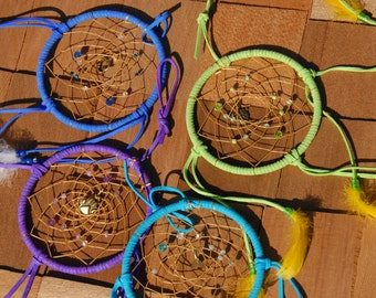 Blue Charm Dream Catcher Craft Kit, DIY Dream Catcher for experienced crafters