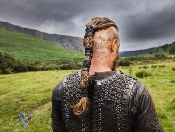 Kleines Krieger Haarband Ragnar Lodbrok Braun Viking Haare Etsy