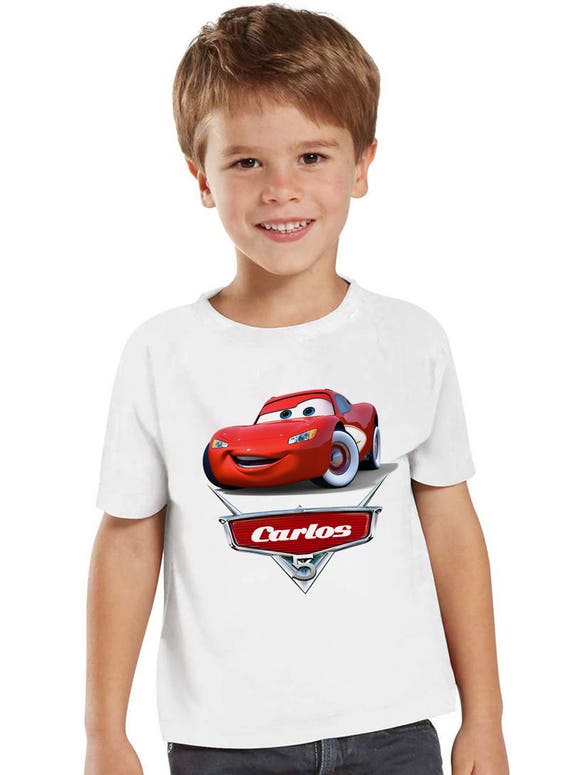 Disney Cars Birthday Shirt Customized with any name and age