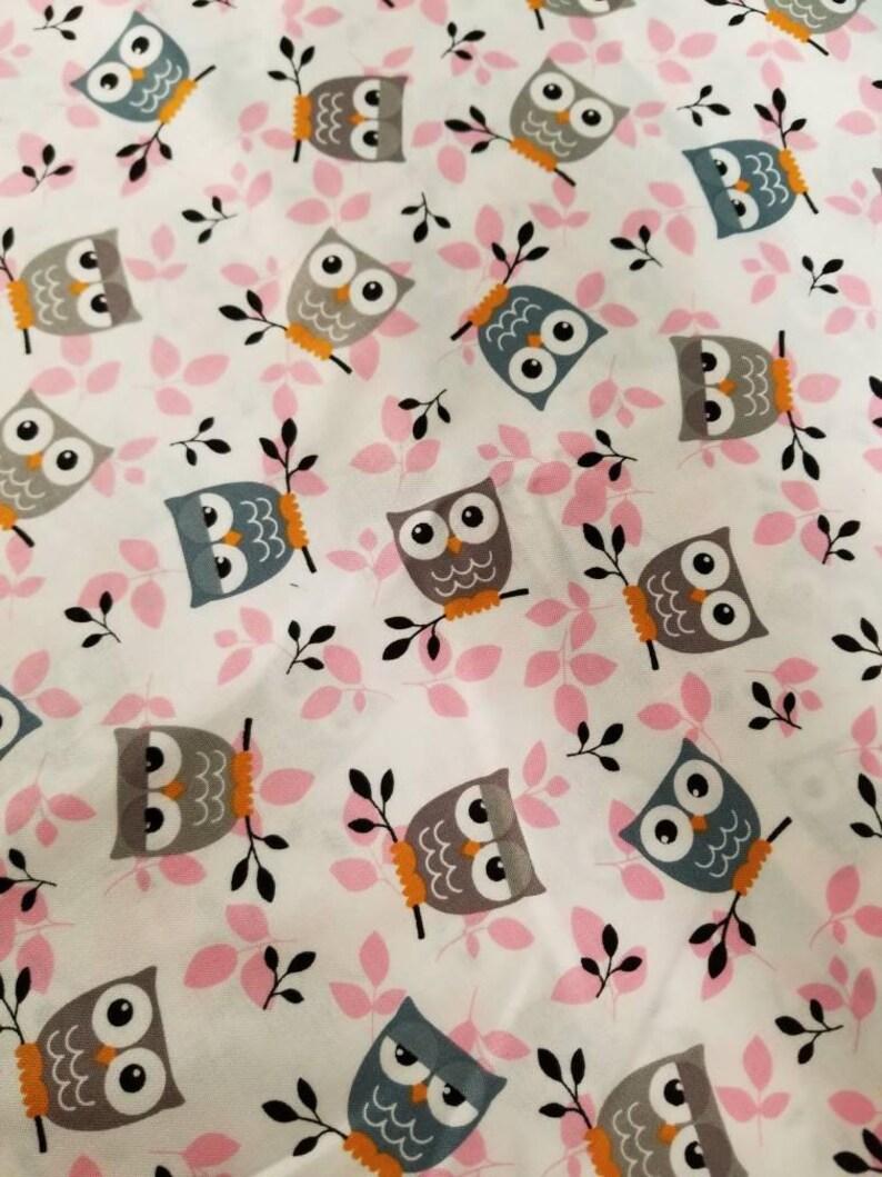 baby sheets Fitted Crib sheet pink crib sheets girl crib sheet baby owls toddler sheet owl crib sheet crib sheet