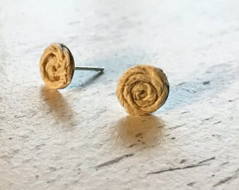 Twine Twisted Stud Earrings
