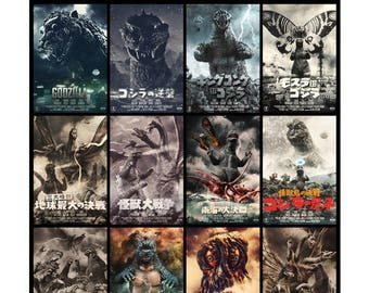 "Showa Godzilla Toy Photography Movie 20""x30"" Poster"