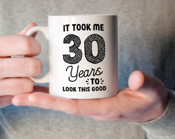 30th Birthday Gift Idea For Him Personalised Funny Coffee Mug Etsy