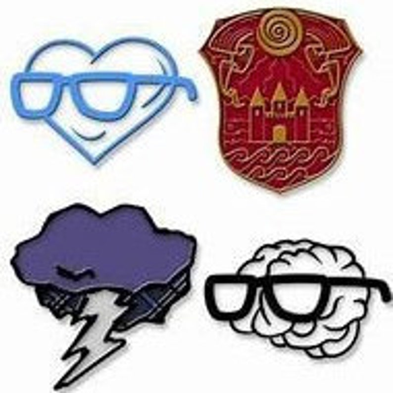 Sanders Sides Logo Cross Stitch PATTERN - All 4 Sanders Sides!