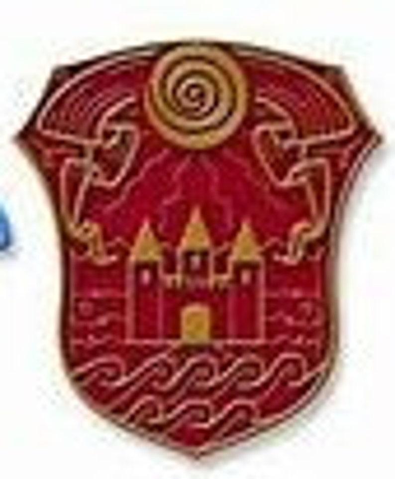 Sanders Sides Logo Cross Stitch PATTERN - Roman Sanders