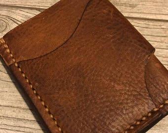 "The ""Tanis"" Minimalist Leather Wallet"