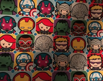 Superhero Kids Avengers Blanket. Perfect For The Superhero to Snuggle With. Made from Cuddly Fleece & 100% Cotton