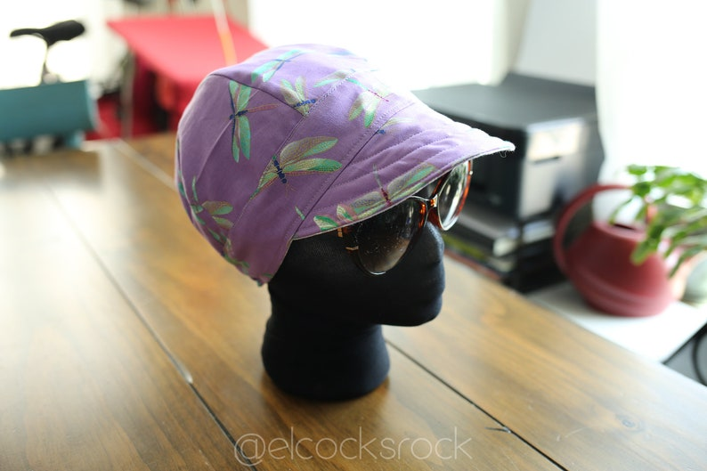 Dragonfly Bike Hat