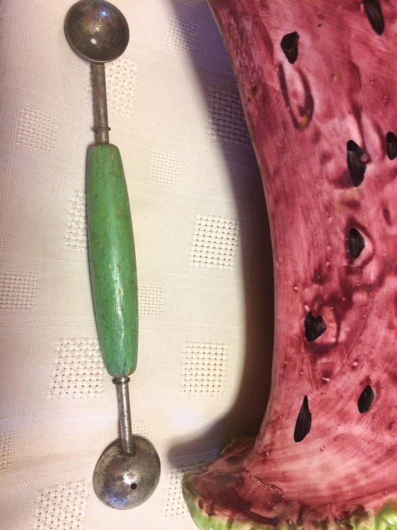 Vintage Melon Scoop Kitchen and Serving,Home and Living Kitchen tools and Supplies