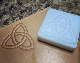 Triquetra Original Leather Stamp