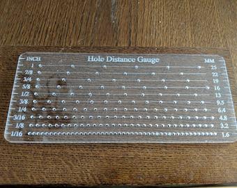 Hole Distance Gauge