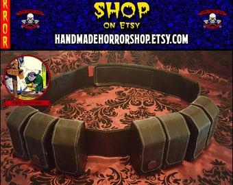 Boba Fett ESB ammo belt + pouches star wars 501st Mandalorian Mercs ****Free US Shipping****