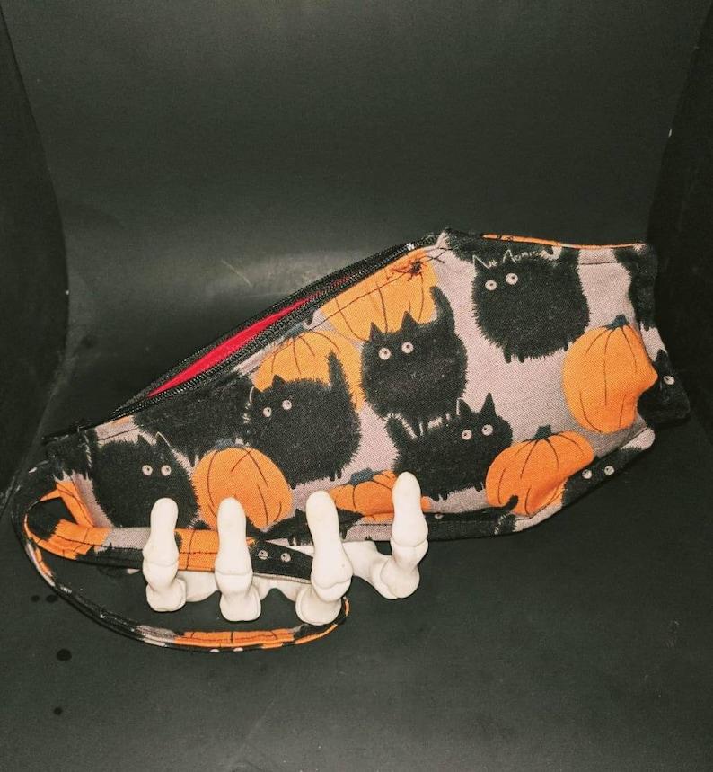 Coffin handbag/wristlet phone make-up cash purse  horror image 0