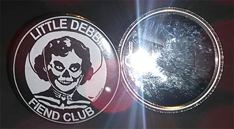 2.25 Mirror Compact Little Debbie Fiend image 0