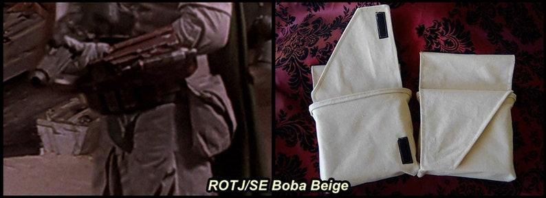 Hip Pouches  Boba Fett ROTJ/SE/ESB Scout Trooper Shadow ROTJ/SE Boba Beige