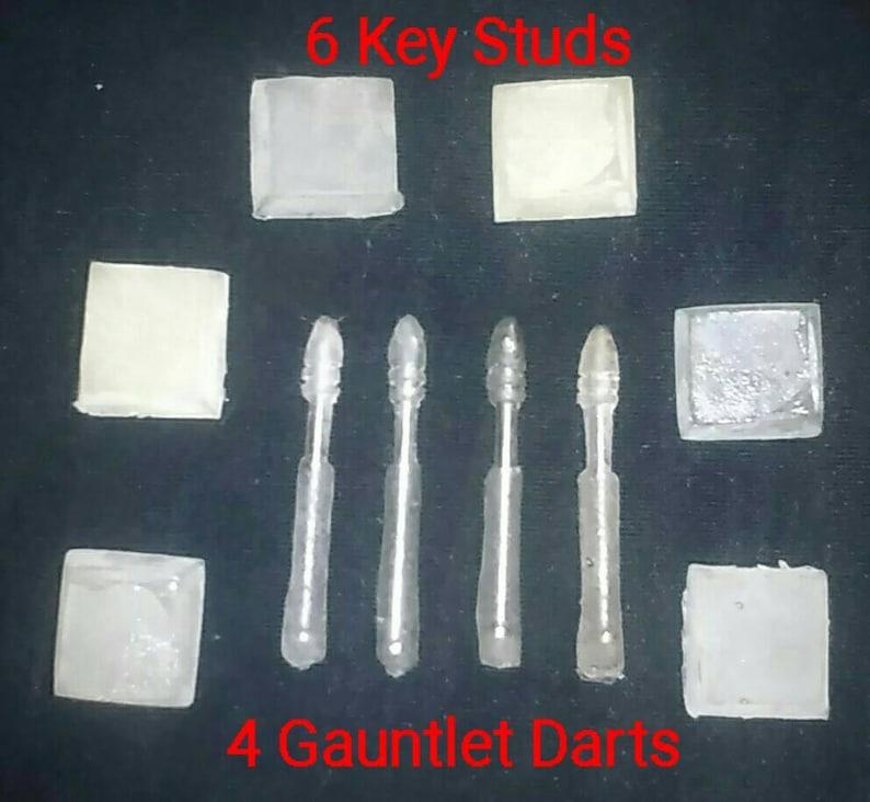 Jango Boba Fett  Mandalorian Armor  Key Studs and Gauntlet image 0