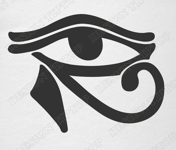 Oko Horusa Svg Starożytny Egipski Amulet Ochrony Dla Kobiet Amulet Ochrony Pliku Svg Talizman Cyfrowe Grafiki Wydrukować Amulet