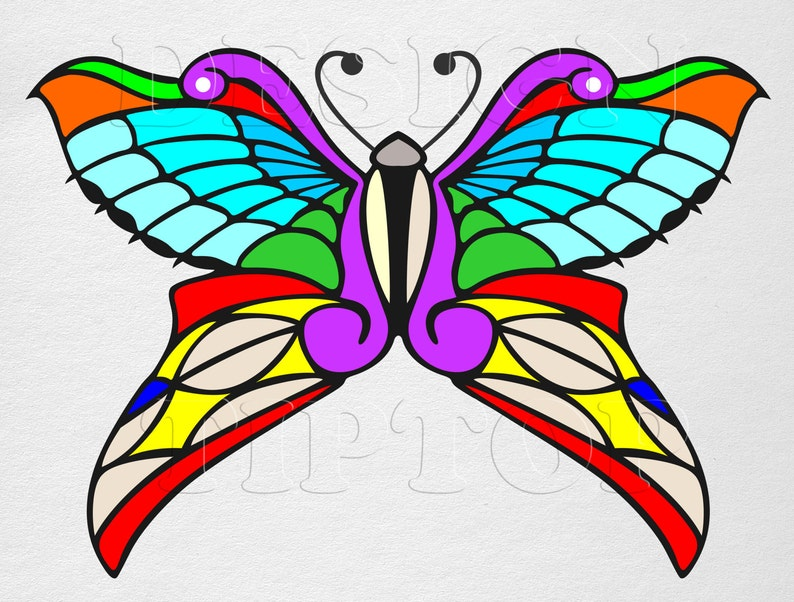 84b870d0e Butterfly SVG butterfly art print and cut files for tattoo   Etsy