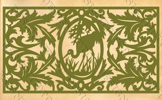 Heron SVG, silhouette heron, wild animals, hunting svg, stencil for ...