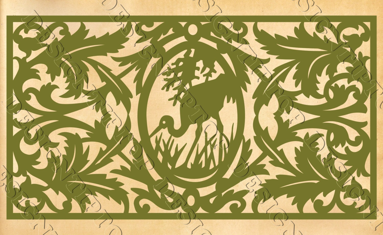 Heron SVG silhouette heron wild animals hunting svg | Etsy