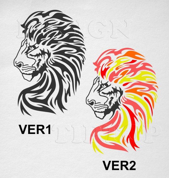 Lion SVG, embroidery designs, lion shirt, tattoo design, tshirt design,  lion wall art, lion tattoo, lion stencil, lion king, wild animals