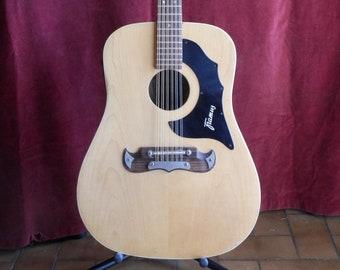Framus Texan, 12 string semi-acoustic guitar.